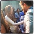Nina & Jensen Ackles @ CW Upfronts 2012