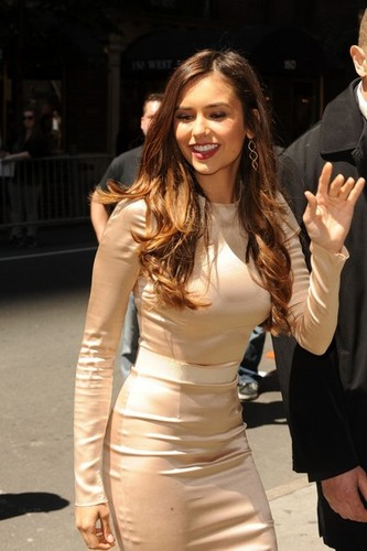 Nina at the CW Upfronts in NYC