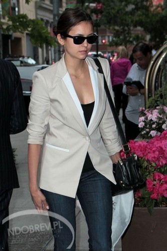 Nina in New York 15/05/2012 - nina-dobrev Photo