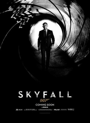 Skyfall wallpaper entitled Official Poster for Skyfall!!!