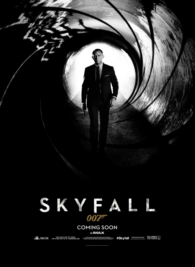 Official Poster for Skyfall!!!