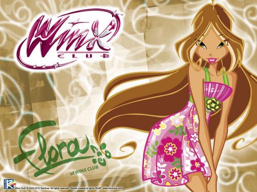 Official Обои 2012 Flora City girl(1)