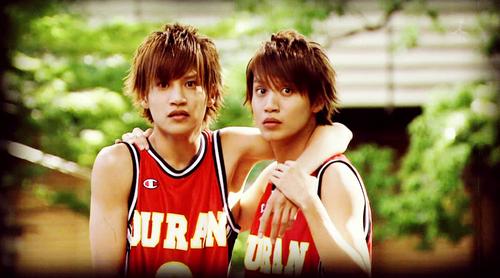 Ouran Hikaru and Kaoru