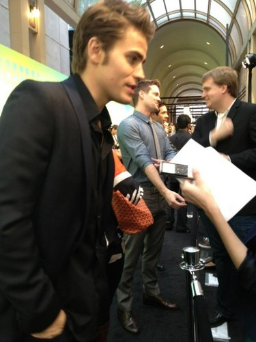 Paul Wesley The CW Upfronts 2012