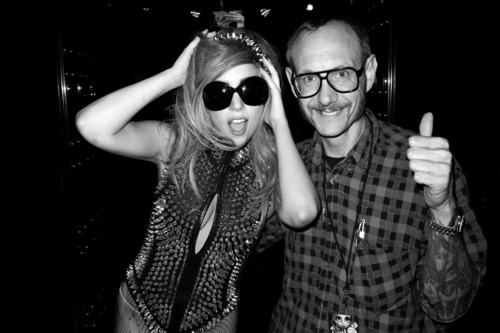 Photos of Gaga in Tokyo by Terry Richardson