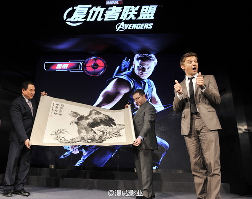 Press conference in Beijing(2012)