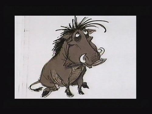 Pumbaa art script
