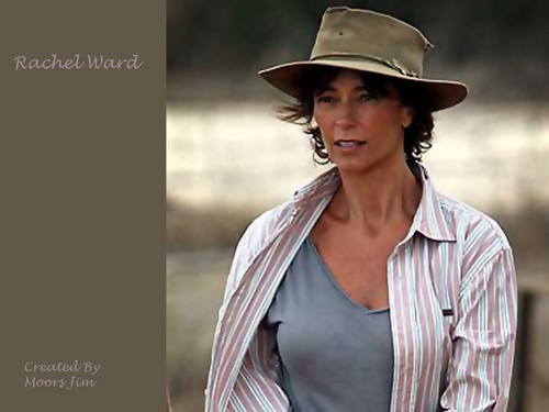 The Thorn Birds wallpaper containing a fedora and a boater entitled Rachel Ward Wallpaper