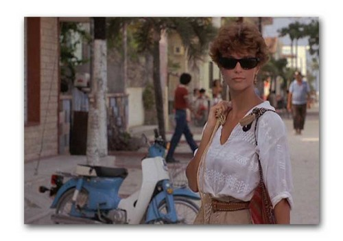 "The Thorn Birds wallpaper with sunglasses titled Rachel Ward in ""Against all odds"""