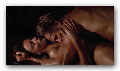 "The Thorn Birds achtergrond probably with skin and a portrait called Rachel Ward in ""Against all odds"""