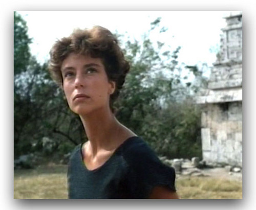 "The Thorn Birds achtergrond containing a portrait entitled Rachel Ward in ""Against all odds"""