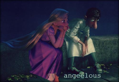 Rapunzel&Linguini.