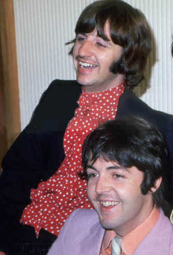 Ringo and Paul - the-beatles Photo