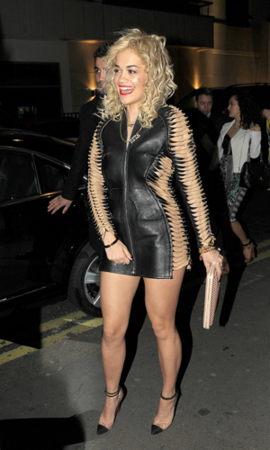 Rita Ora - At the Whisky Mist in London - May 14, 2012