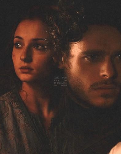 Robb and Sansa