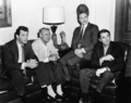 Rock Hudson, Cary Grant, Marlon Brando & Gregory Peck