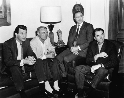 Rock Hudson, Cary Grant, Marlon Brando & Gregory Peck - classic-movies Photo