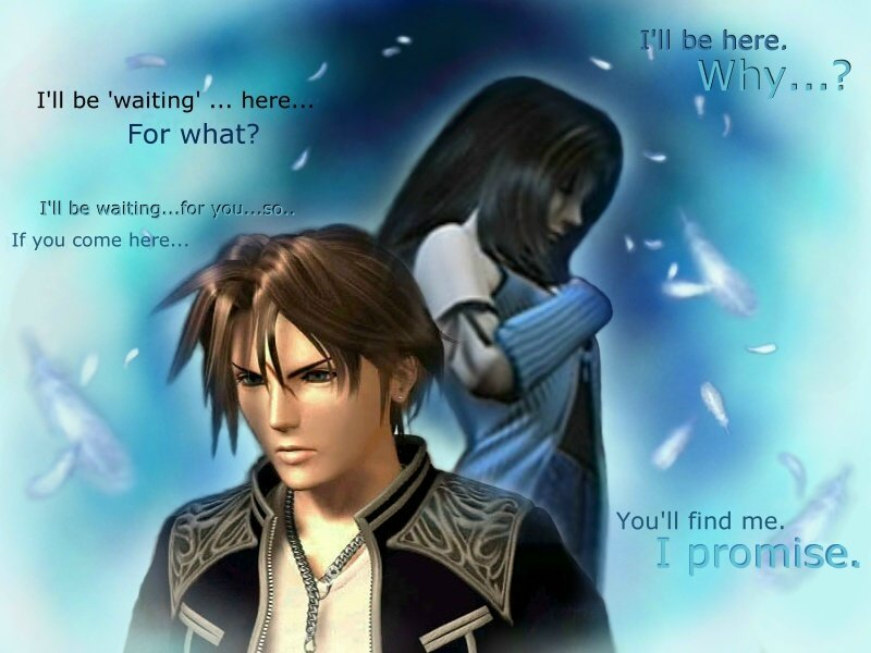 Squall And Rinoa Quotes Squall And Rinoa