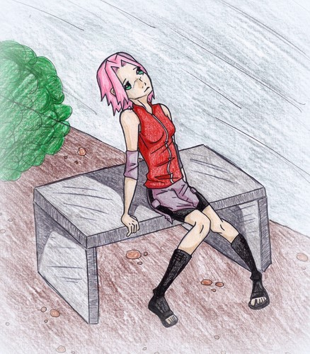Naruto Shippuuden wallpaper possibly containing anime entitled Sakura Haruno