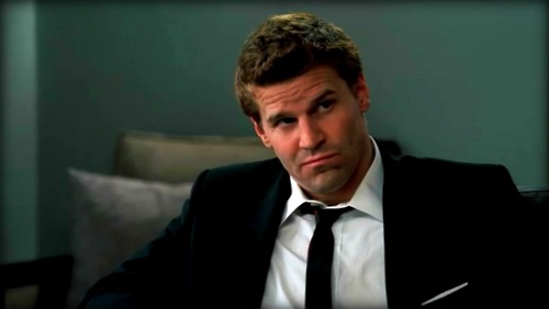 Seeley Booth वॉलपेपर with a business suit and a suit called Seeley Booth