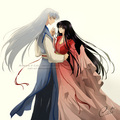 Sesshoumaru and Kikyo - inuyasha-and-ranma-1-2 fan art