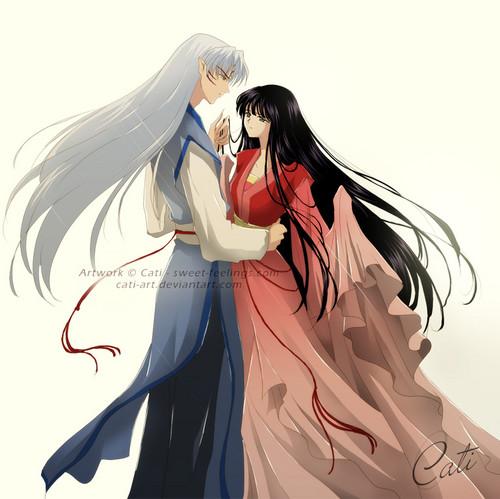 Sesshoumaru and Kikyo