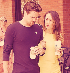Shane & Maggie - shane-west-and-maggie-q Photo