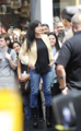 Shannen - Appears on 'Extra' at The Grove in LA, April 09, 2012 - shannen-doherty photo