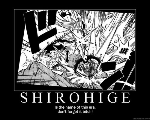Edward Whitebeard Newgate achtergrond containing anime titled Shirohige Era