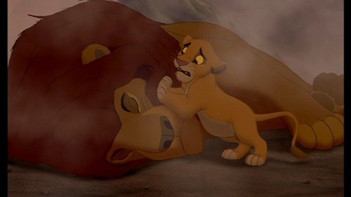Simba & Mufasa so sad:(