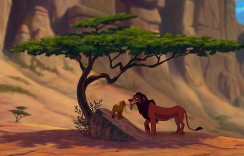 Simba and Scar