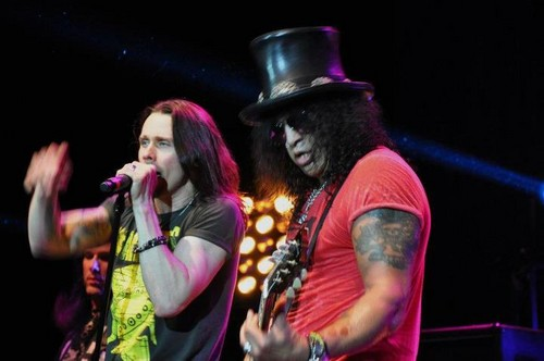 slash & The Conspirators amor at Hard Rock Hotel, Biloxi 10/5/12