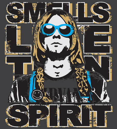 Smells like teen spirit. :)