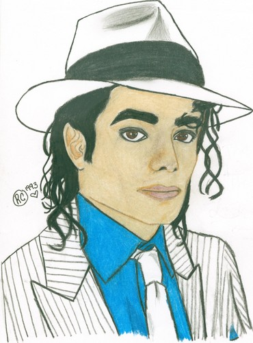 Michael Jackson Hintergrund probably with Anime called Smooth Criminal