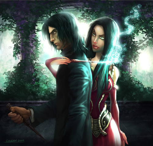 Snape and Bellatrix