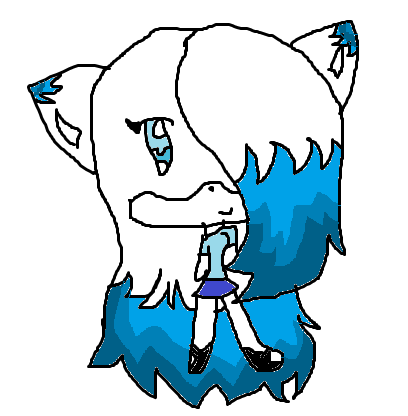 Snowy's new look and in chibi form