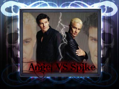 Spike VS Энджел