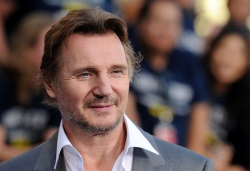 Stars at the Premiere of 'Battleship' in LA - liam-neeson Photo