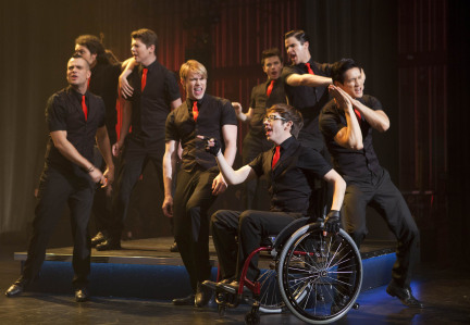 Stills from Nationals episode - glee Photo