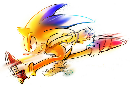 Sonic the Hedgehog wallpaper entitled Super