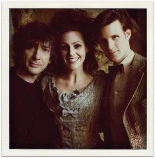 Surrane with Matt Smith in Doctor Who Season 6 <333