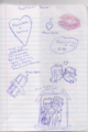 Svetlana's Diary Doodles - total-dramas-mike photo