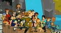 TDWT Finale Peanut Gallery laughing - total-drama-world-tour photo