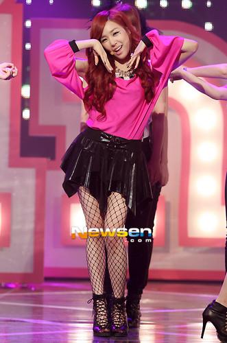 Taeyeon Tiffany Seohyun @ MBC دکھائیں Champion