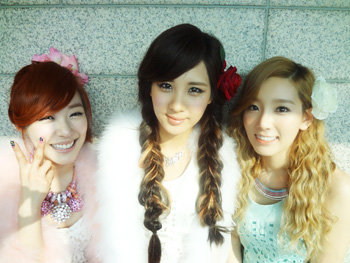 Taeyeon Tiffany Seohyun Official Website Selca