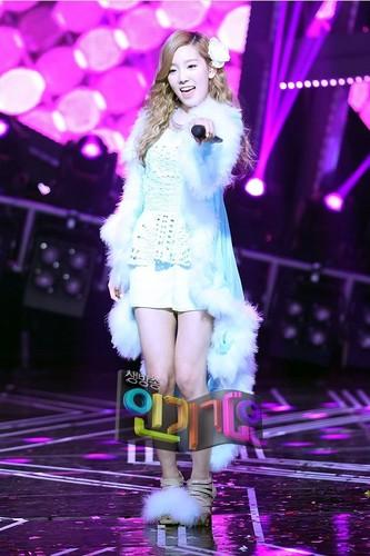 Taeyeon Tiffany Seohyun @ SBS Inkigayo