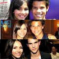 Taylor and Victoria Justice - taylor-lautner fan art