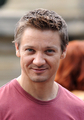 The Avengers BTS - jeremy-renner photo