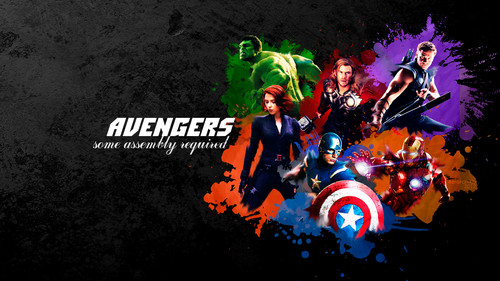 the avengers wallpaper probably containing anime entitled The Avengers