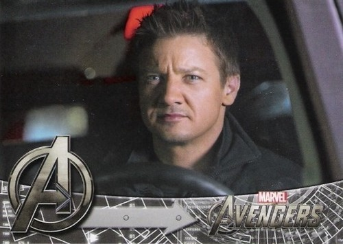 The Avengers treading cards